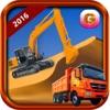 Sand Excavator Simulator 2016 - Heavy Machinery City Road Construction Truck Game