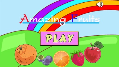 Amazing Fruits Matching Cards Games for Preschool Learning Screenshot on iOS