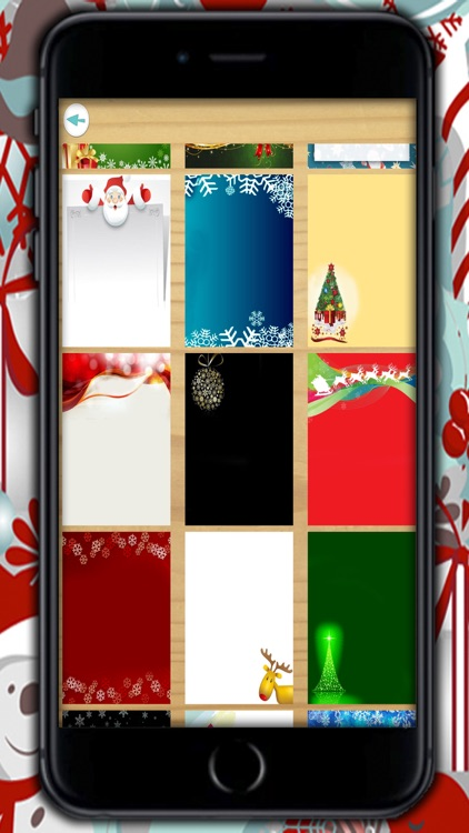 Create Christmas Cards - Customized Christmas greeting cards to write and wish a happy New Year screenshot-3