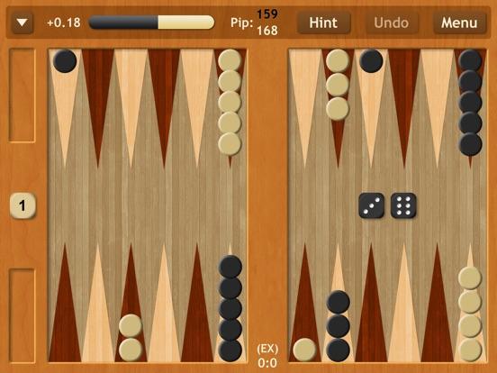 Backgammon NJ HD на iPad