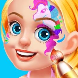 Kids Face Paint Salon - Makeup Party Girls Game