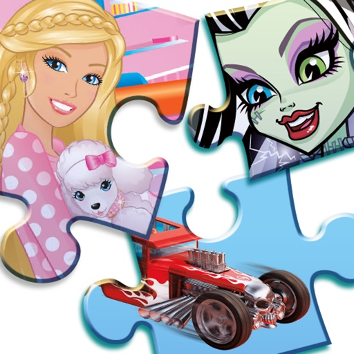 Mattel Fun with Puzzles featuring Barbie®, Monster High® and Hot Wheels®