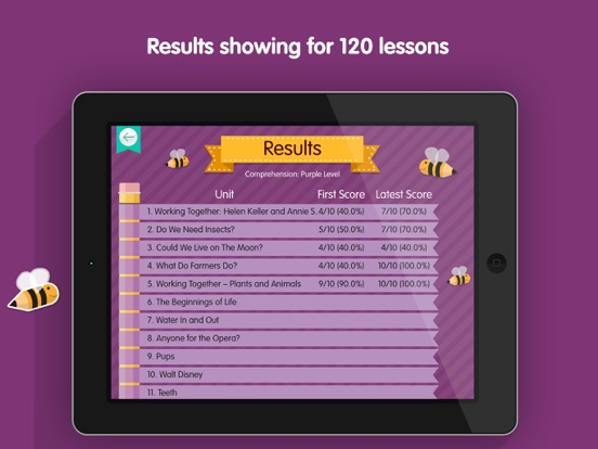LessonBuzz - Literacy 5 screenshot three