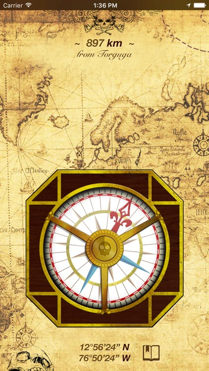 Captain Jacks Compass