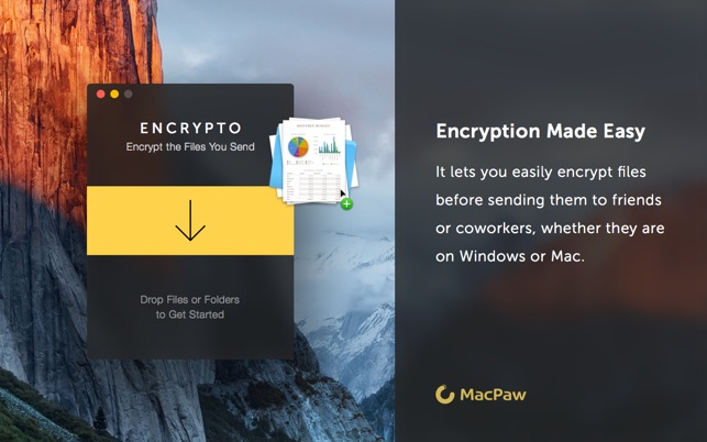 Encrypto: Secure Your Files Screenshot