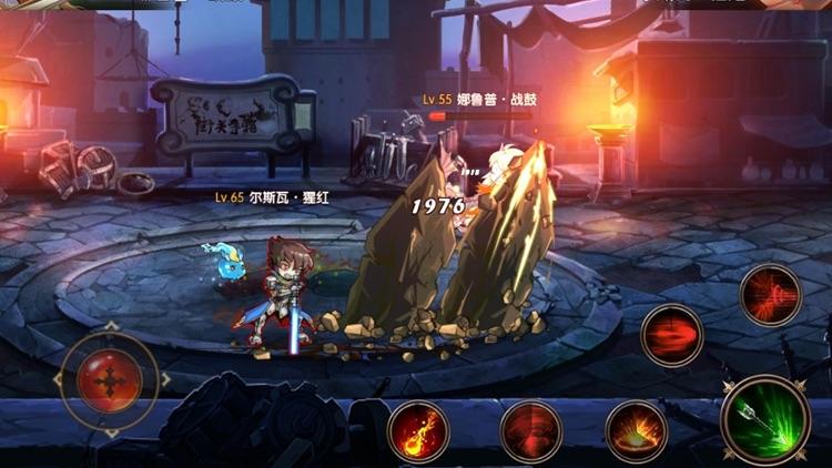 神界战纪 - 超热血二次元动漫格斗手游 screenshot-4