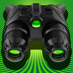 Night Vision Camera - True! HDR HD Real Green Binoculars Zoom with Private Folder Pro