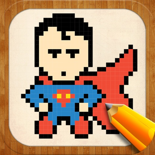 Drawing Ideas For Pixel Superheroes By Alexander Trofeynikov