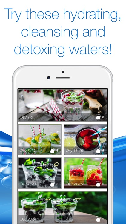 30 Day Water Detox Challenge screenshot-1