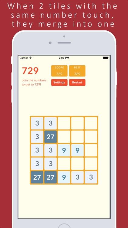 2048 + Fibonacci screenshot-3