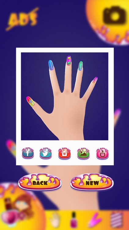 Cute Nail Design for Girls – Virtual Beauty Salon with Pretty Manicure Makeover Ideas screenshot-4