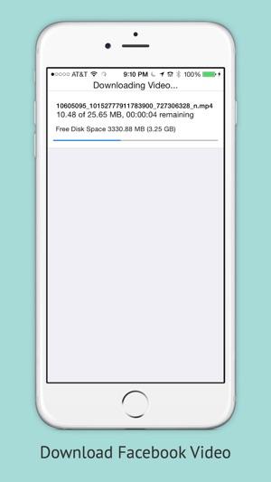 app store download facebook videos