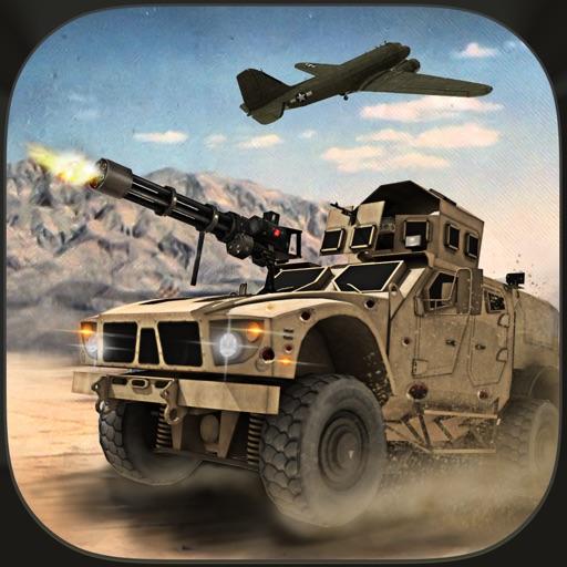 Army Battle Truck Cargo Plane Flight 3D Simulator by