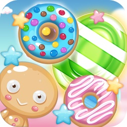 Candy Sweet Fruit Splash - Match and Pop 3 Puzzle
