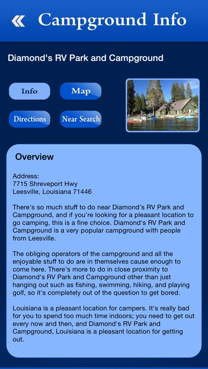 Louisiana Campgrounds & RV Parks