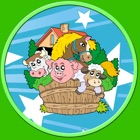 farm animals for small kids - no ads icon