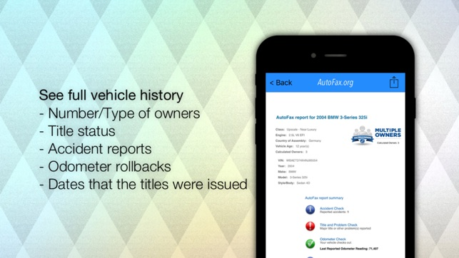 autofax vehicle history reports vin check for used cars on the rh itunes apple com