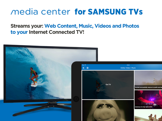 Media Center for Samsung TVs | App Price Drops