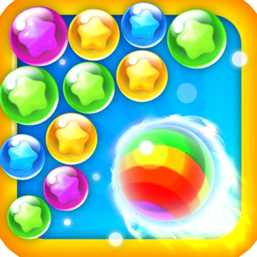 Playing a bubble-fun,game