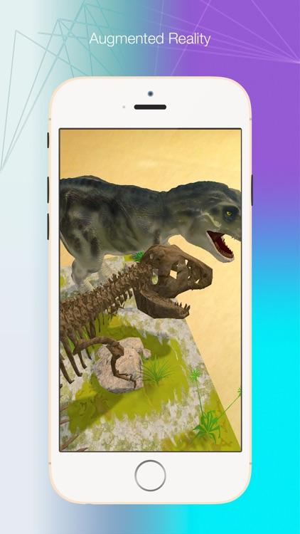 Logie T. Rex Augmented Reality screenshot-4