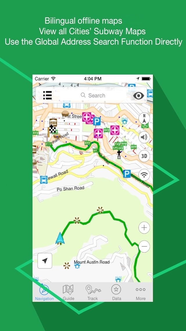 Screenshot for Liban Navigation 2016 in Lebanon App Store