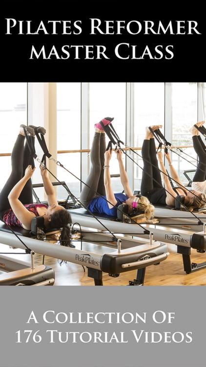 Pilates Reformer Master Class screenshot-0