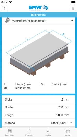 coil und stahlrechner im app store. Black Bedroom Furniture Sets. Home Design Ideas
