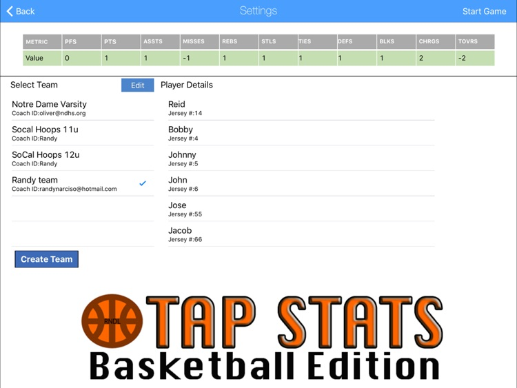 Tap Stats screenshot-0