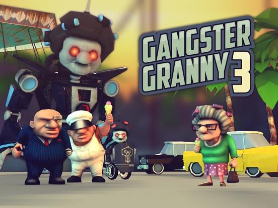 Gangster Granny 3 на iPad