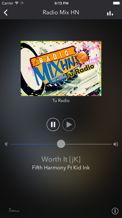 Radio Mix HN screenshot two