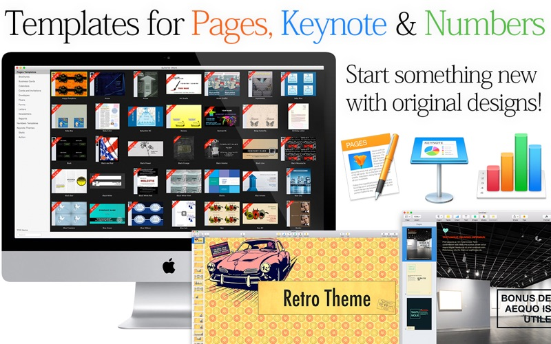 Suite for iWork - Templates for Pages and Keynote for Mac