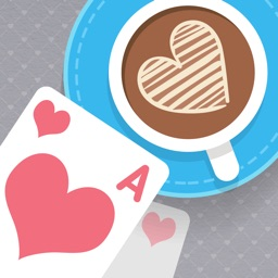 Solitaire: Match 2 Cards. Valentine's Day. Matching Card Game