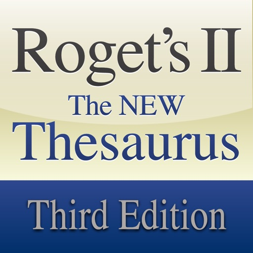 Rogets II: The New Thesaurus