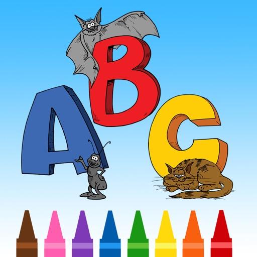 Spelen Alfabet Kleurplaat Kinderspelletjes Kinderen Engels Leren