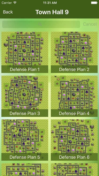 Maps and Layouts for Clash of Clans screenshot-2