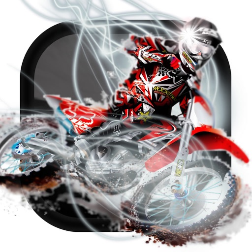 A Crazy Trial Motocross - Xtreme Downhill Motorcycle