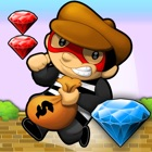 Diamond Runner ~ the best free jump and run bandit platform game with endless multiplayer levels icon