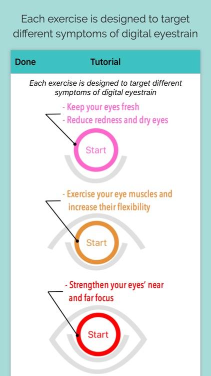 iDetox - Eyestrain Monitor