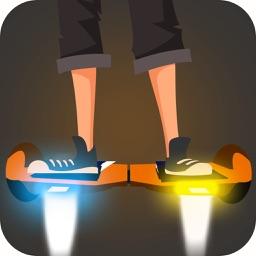 Flying Hoverboarder