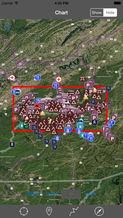 Great Smoky Mountains National Park – GPS Offline Park Map Navigator screenshot-4