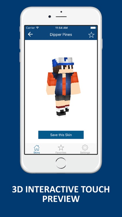 Best Cartoon Skins for Minecraft Pocket Edition screenshot-1