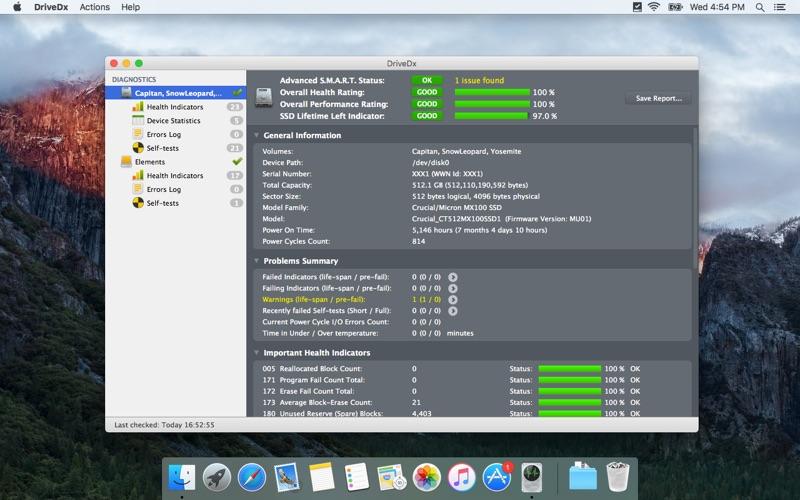 DriveDx Screenshots