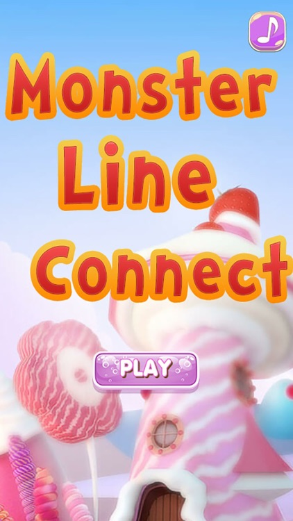 Monster Line Connect : Free Puzzle Game