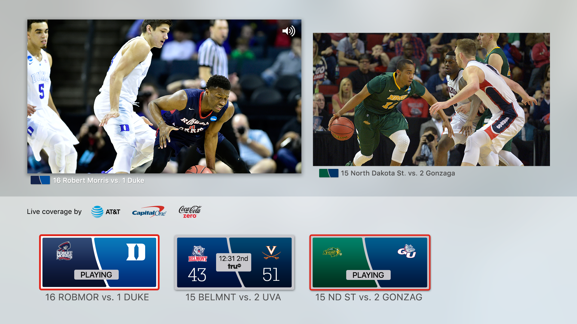 NCAA March Madness Live screenshot 18
