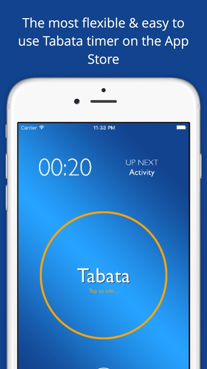 Totally Tabata Timer - 4 Minute Tabata Workout & HIIT Interval Training screenshot-0