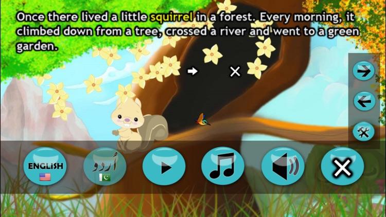 A Mountain and a Squirrel (Allama Iqbal) screenshot-3