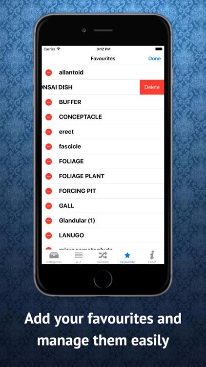 Botany Dictionary screenshot-3