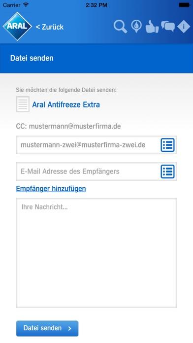Aral Partner AppScreenshot von 4