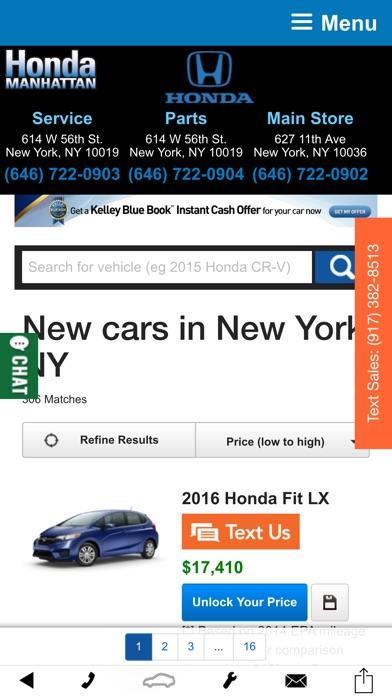 Honda Of Manhattan >> Honda Of Manhattan Apprecs