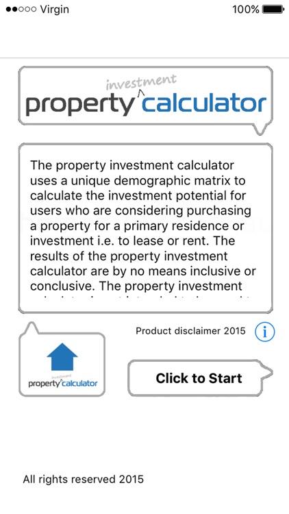 Propert Investment Calc